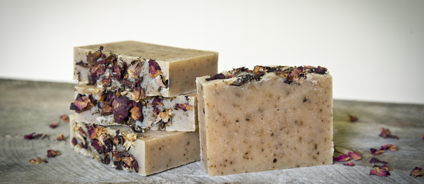 The Freckled Farm Soap Company Goat Milk Soap - Rose