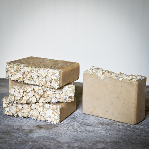 The Freckled Farm Soap Company's Goat Milk Soap – Oatmeal Honey