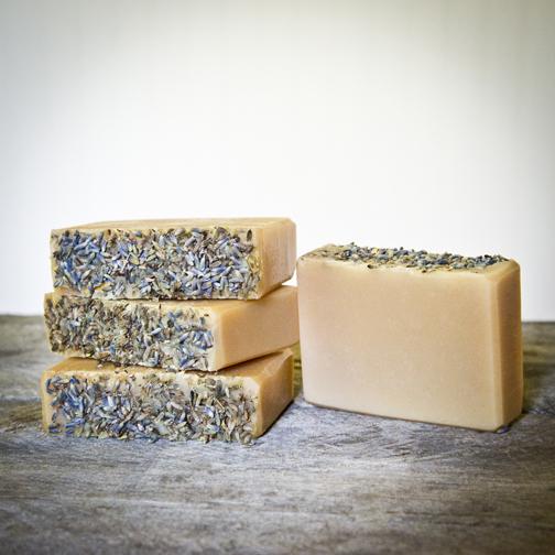 The Freckled Farm Soap Company's Goat Milk Soap - Lavender