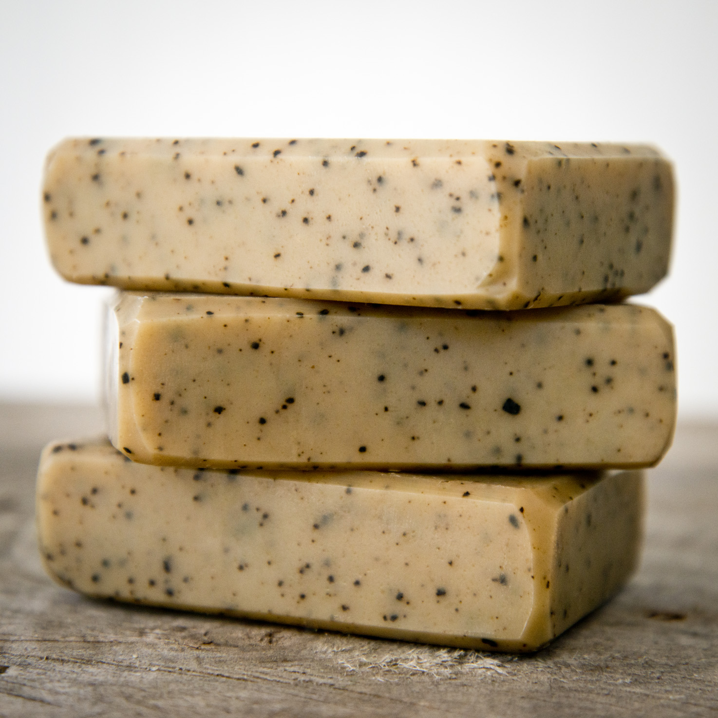 Coffee Goat Milk Soap from The Freckled Farm Soap Company