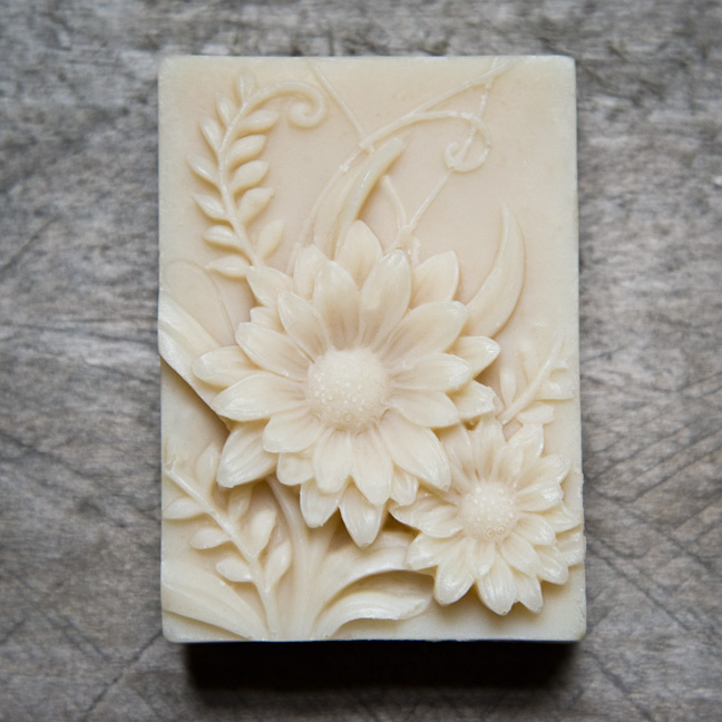 Flower Mold from The Freckled Farm Soap Company