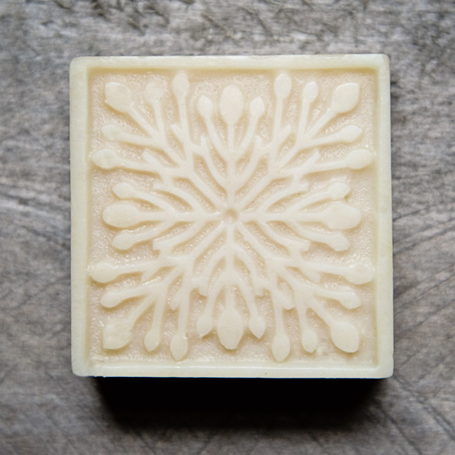 Snowflake Mold from The Freckled Farm Soap Company