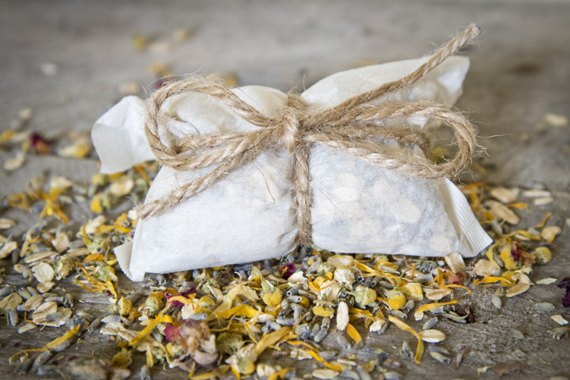 Bath Tea from The Freckled Farm Soap Company