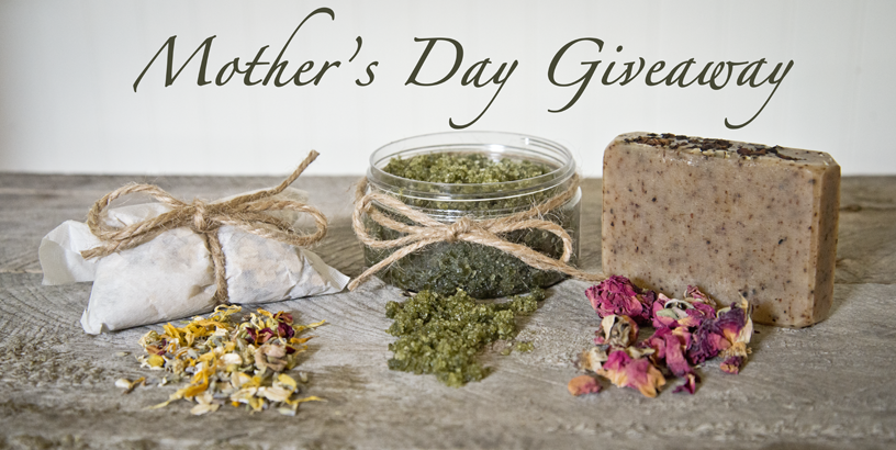 Mothers day giveaway from the Freckled Farm Soap Company