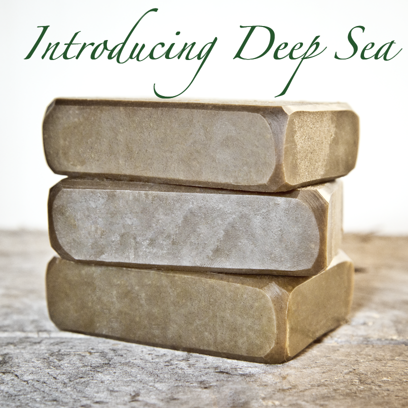 Deep Sea Goat Milk Soap from The Freckled Farm Soap Company