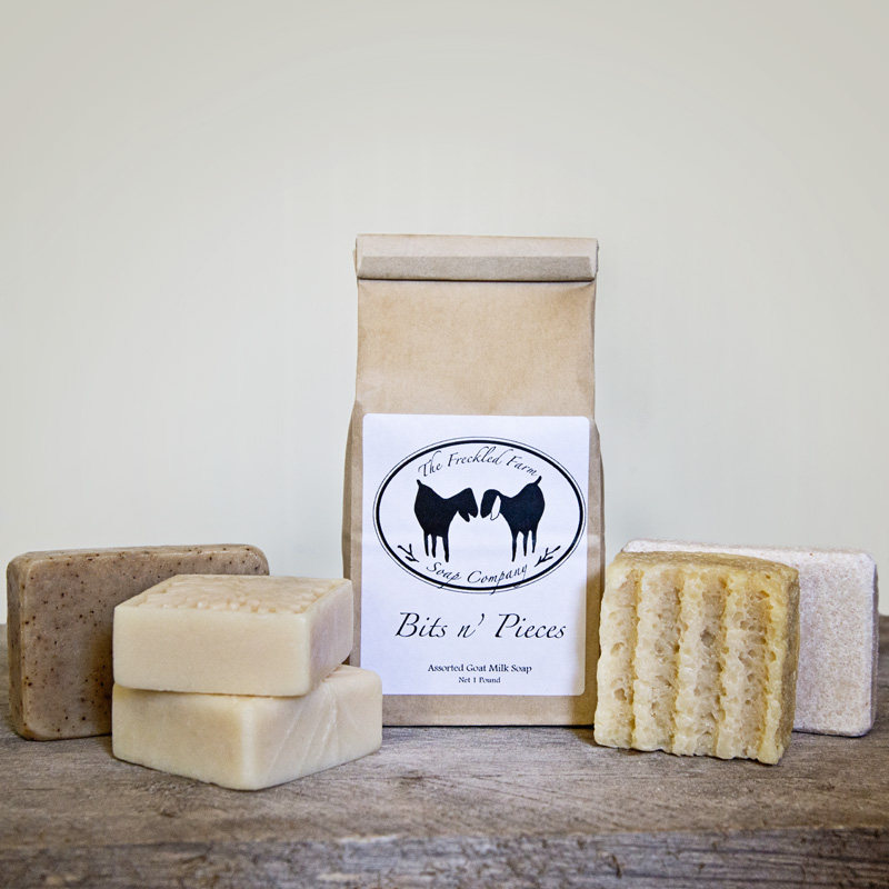 Bits N Pieces from The Freckled Farm Soap Company