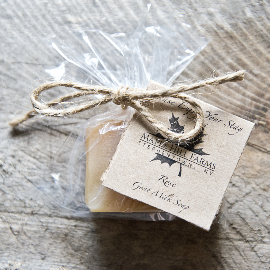 Custom Order Goat Milk Soap - Wedding Favor - The Freckled Farm Soap Company