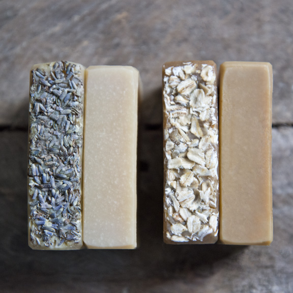 Topped or not topped - Goat Milk Soap - The Freckled Farm Soap Company