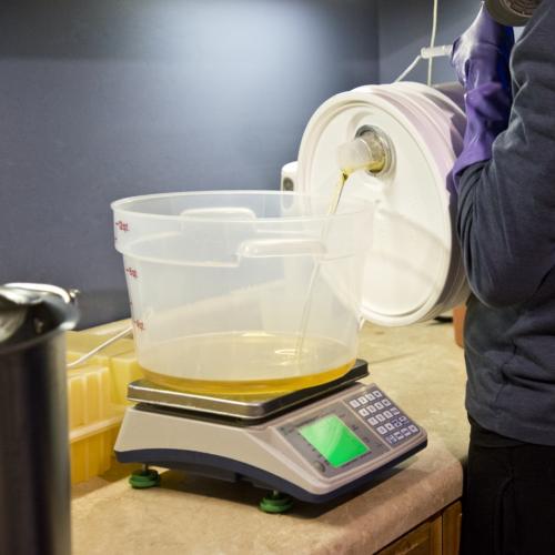Pouring Oils - Goat Milk Soap Making
